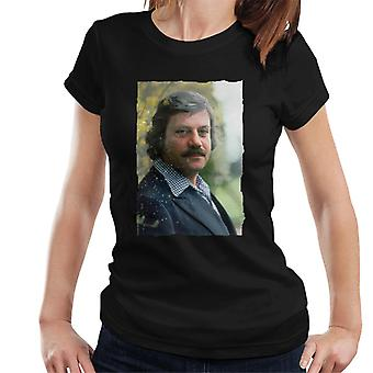 TV Times Actor Oliver Reed 1978 Women's T-Shirt