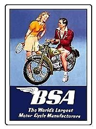 BSA Fridge Magnet (tennis girl)