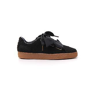 PUMA aus schwarzer Wolle Sneakers