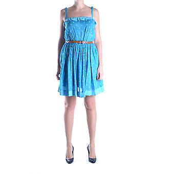 Twin-set Blue Cotton Dress