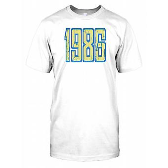 1986 - Birthday Year Kids T Shirt