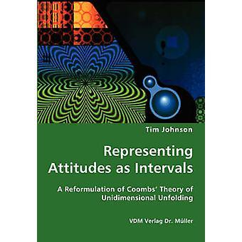 Som företräder attityder som intervaller en omformulering av Coombs teori av endimensionell unfoldingen av Johnson & Tim