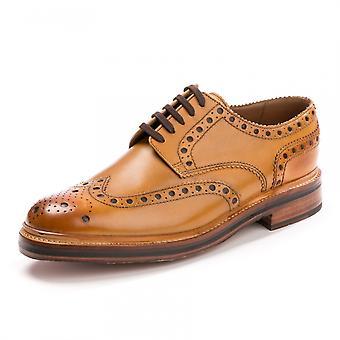 Grenson Grenson Archie Brogue Tan Mens Shoe