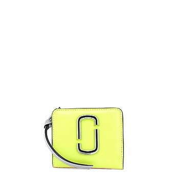 Marc Jacobs Yellow Leather Wallet