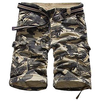 Allthemen pantaloni corti uomo cotone camouflage casual estate pantaloni corti