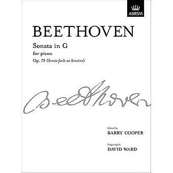 Sonata in G - Op. 79 - From Vol. III by Ludwig van Beethoven - 9781848