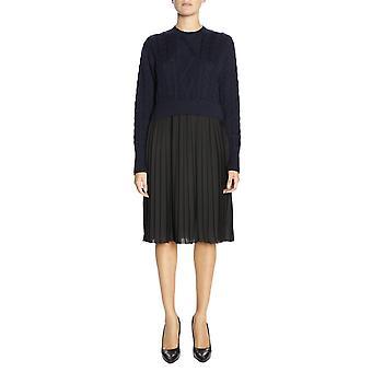 Kenzo svart polyester klänning