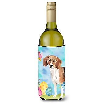 Beagle Easter Wine Bottle Beverge Insulator Hugger
