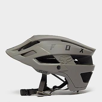 New Fox Flux Bike Cycling Helmet Grey
