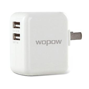 A12 universal portátil duplo USB carregador de bateria para o telefone móvel