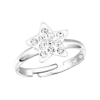 Star - 925 Sterling Silver Rings - W12237X