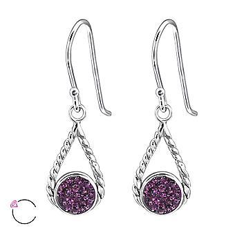 Tear Drop crystal from Swarovski® - 925 Sterling Silver Earrings - W24401X