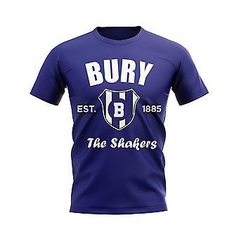 Bury Established Football T-Shirt (Navy)