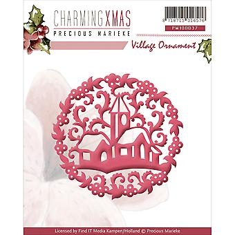 Find It Trading Precious Marieke Charming Christmas Die-Village Ornament PM10037