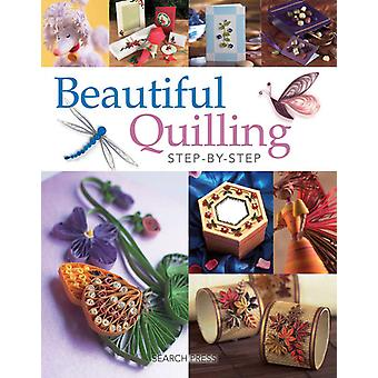 Search Press Books Beautiful Quilling Step By Step Sp 5109