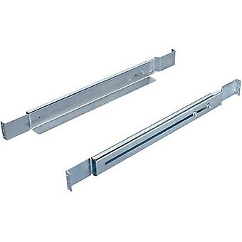 Rittal guide rails, adjustable depth, 550mm, 1 HE 7063.750