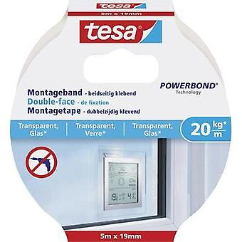Industrial tape TESA Tesa® POWERBOND Transparent (L x W) 5000 mm x 19 mm Content: 1 Rolls