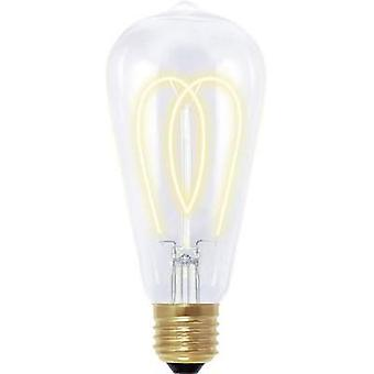 LED (monochrome) Segula 230 V E27 4 W = 15 W Gold EEC: B Bulged (Ø x L) 60 mm x 135 mm dimmable, Filament 1 pc(s)