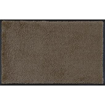 Wash & dry mat washable taupe 60 x 90 cm 005117