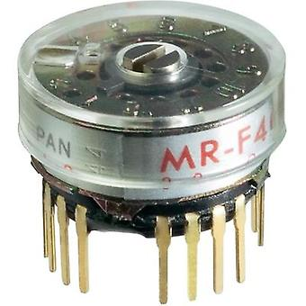 Rotary switch 125 Vac 0.25 A Switch postions 12 1 x 30 ° NKK Switches MRF112 1 pc(s)