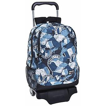 Lotto Mochila 665 Con Carro 905 Lotto Flag (Toys , School Zone , Backpacks)