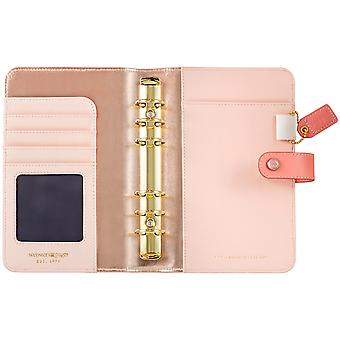 Color Crush Faux Leather Personal Planner Kit 5.25