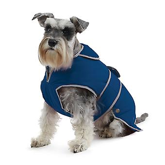 Muddy Paws Stormguard Fleece Lined Coat & Chest Protector Blue Xlarge