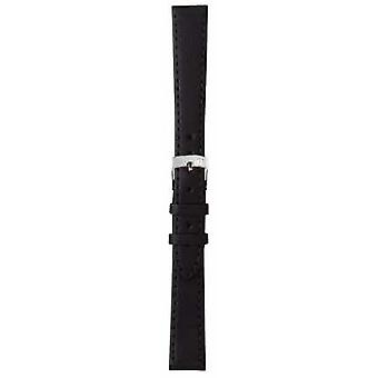 Morellato Strap Only - Sprint Napa Leather Black 20mm A01X2619875019CR20 Watch