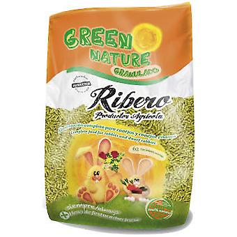 Ribero Rabbit Food Green Nature Granulated (Small pets , Dry Food and Mixtures)