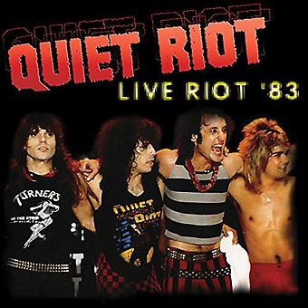 Quiet Riot - Live Riot 83 [Vinyl] USA import