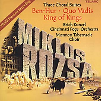 M. Rozsa - Miklos Rozsa: Three Choral Suites [CD] USA import