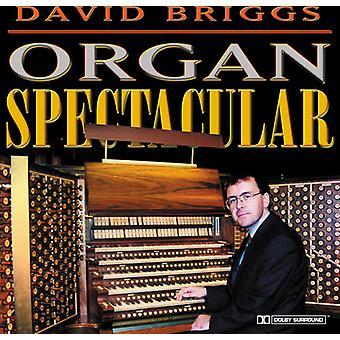 David Briggs - orgel spektakulära [CD] USA import