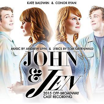 Baldwin, Kate / Ryan, Conor - John & Jen (2015 Off Broadway Cast Recording) [CD] USA import