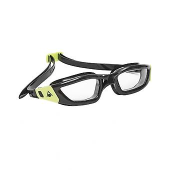 Aqua Sphere Kameleon Adult Swim Google-Clear Lens-Black/Lime