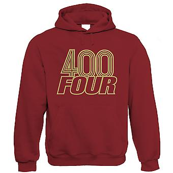 400 Four 400/4 Classic Biker Hoodie - Vintage Motorbike Gift for Him