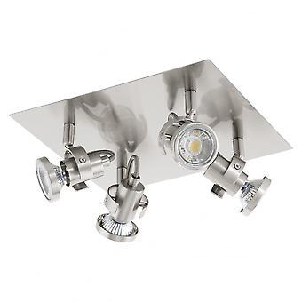 EGLO TUKON стальной пластине 4 свет потолок монтаж