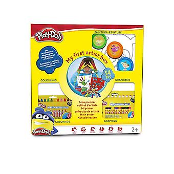 Play Dough Kids My First Artist Box with 54-Piece Creative Accessories (CPDO029)