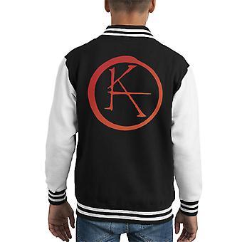 Ka Logo Dark Tower Kid's Varsity Jacket