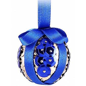 Pinflair Sequin & Pin Craft Kit to Make 10 Blue Christmas Baubles