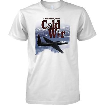 A New Mission For The Cold War - U2 Spy Plane - Mens T Shirt