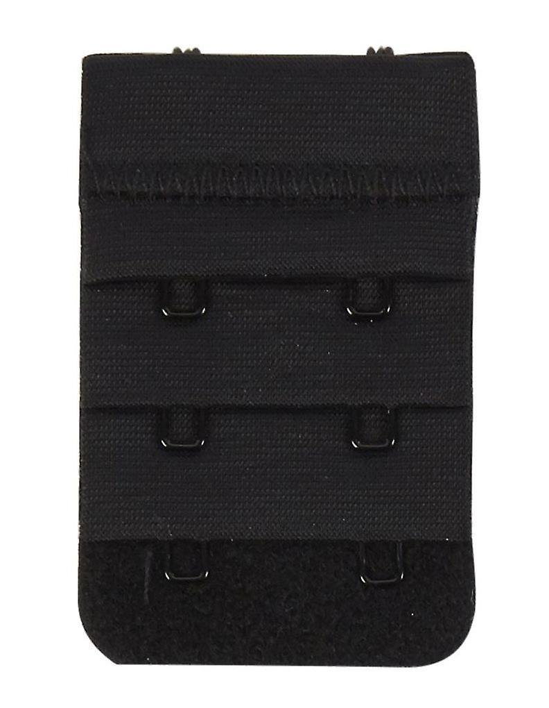 Secret Weapons SW029-2 Women's 2 Hook Bra Strap Extender Black Bra Extenders