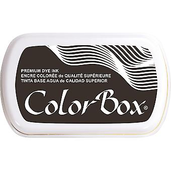 ColorBox Premium Dye Ink Pad-Black Bean 159-18