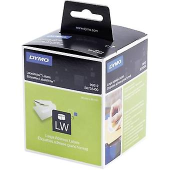 DYMO Labels (roll) 89 x 36 mm Paper White 260 pc(s