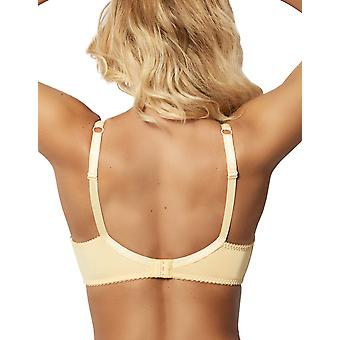 Sans Complexe 70564 Women's Arum Gold Yellow Lace Underwired Full Cup Bra