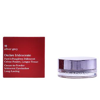 Clarins Ombre Iridee 10 Silver Grey 7gr Womens New Sealed Boxed