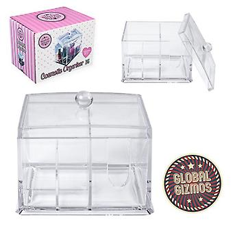 Acrylic Clear Make Up Organiser Cosmetic Jewellery Drawer Storage Case Box Tidy Various Types