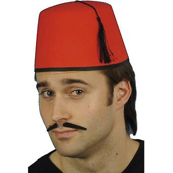 Smiffys Fez Hat Red With Black Tassel (Babies and Children , Costumes)