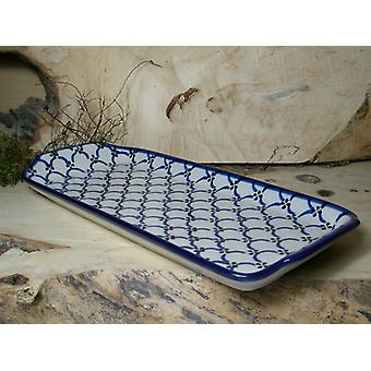 Plate 32 cm x 14.5 cm, 25 - tradition polacco ceramica - BSN 200010