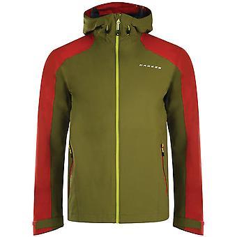 Dare 2b Mens rectitud II abrigo con capucha transpirable impermeable chaqueta