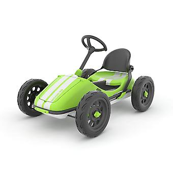 Chillafish Monzi-RS Foldable Pedal Go Kart Lime Ages 3-7 Years